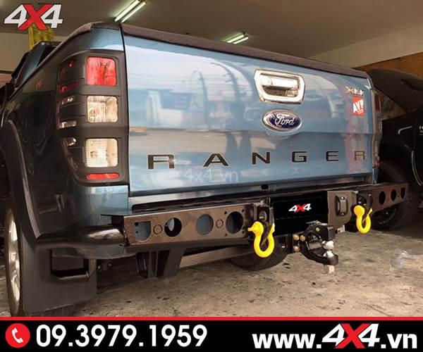 Cản sau Ford Ranger độ: Cản sau YAK độ cứng cáp và đẹp cho bán tải