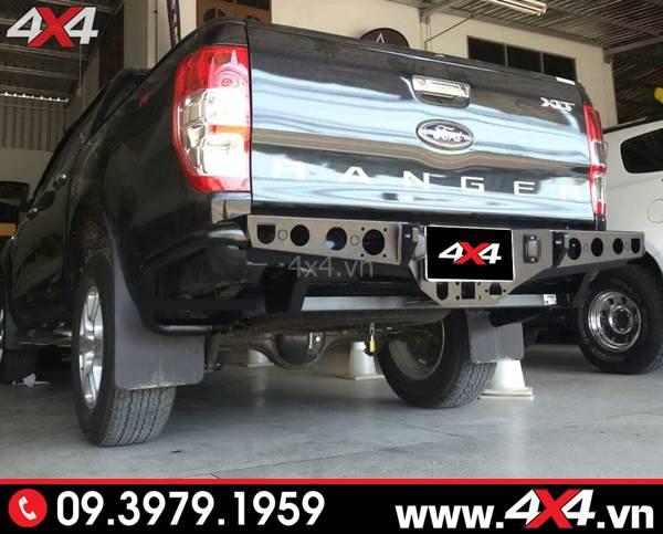 Độ cản sau Ford Ranger: Chiếc bán tải Ford Ranger độ cản sau đẹp, hầm hố và cứng cáp