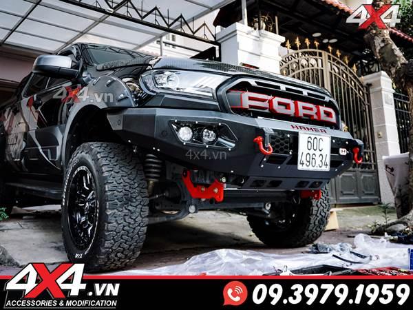 Mê mẩn với vẻ đẹp của mẫu cản trước độ hammer dành cho xe Ford Ranger