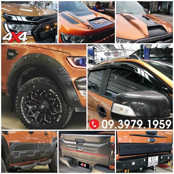 Full bộ ốp trang trí Ford Ranger cực tốt giá hấp dẫn tại 4x4