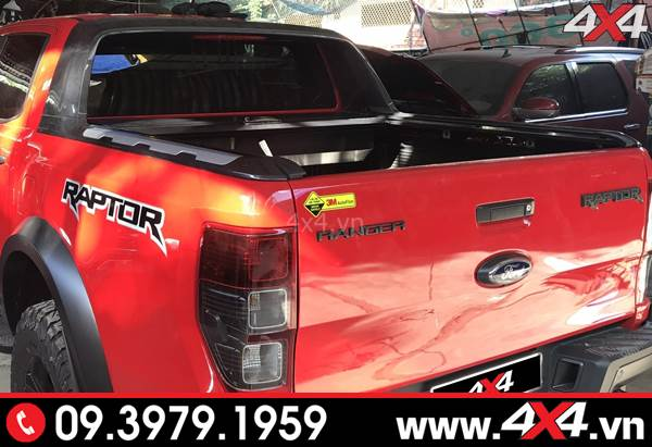 Thanh thể thao Ford Ranger Wildtrak dành độ cho xe XLS, XLT, Raptor 2018 2019