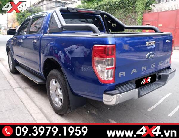 Thanh thể thao Ford Ranger Hamer độ ngầu và cứng cáp cho xe bán tải
