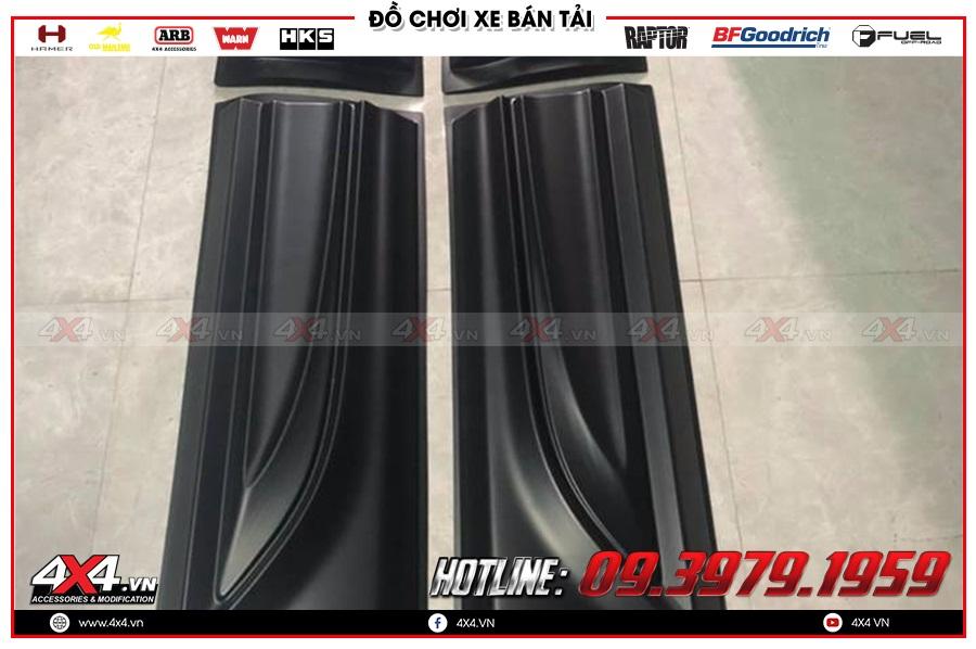 Giá ốp hông cửa xe Mazda BT50 2020 nhập khẩu Thái Lan