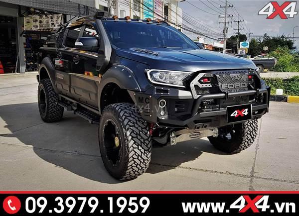 Chiếc bán tải Ford Ranger độ ngầu và khủng với nhiều món đồ chơi - Hình 8