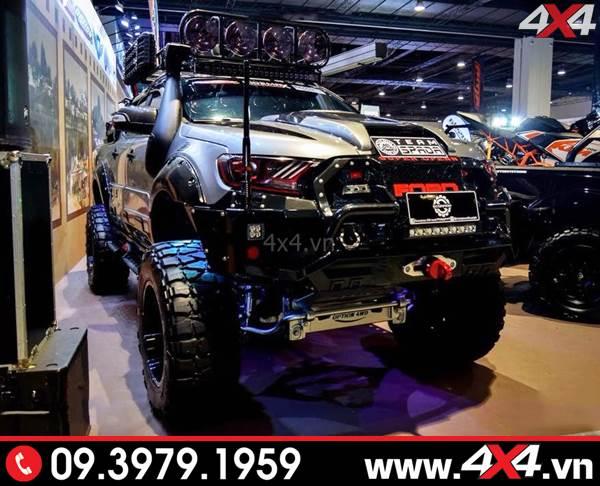 Chiếc bán tải Ford Ranger cực ngầu và đẹp với nhiều món đồ chơi độc - Hình 12