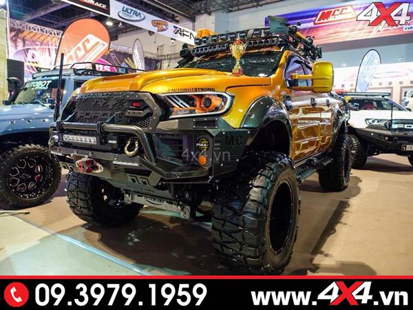 Chiếc bán tải Ford Ranger đoạt giải nhất trong cuộc thi độ xe - Hình 17