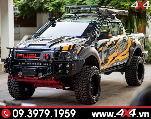Chiếc Ford Ranger đẹp và ngầu với mẫu tem Fuel - Hình 20