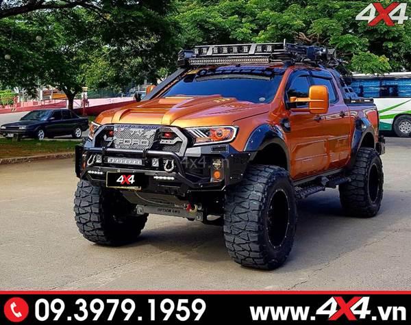 Một góc nhìn khác về chiếc bán tải Ford Ranger độ đẹp - Hình 11