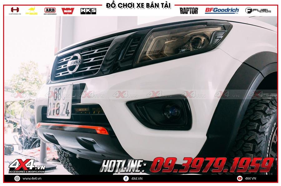 Tăng sáng Bi Led cực xịn cho Nissan Navara