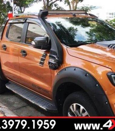 Chiếc bán tải độ ống thở Ford Ranger đẹp, hầm hố và ngầu