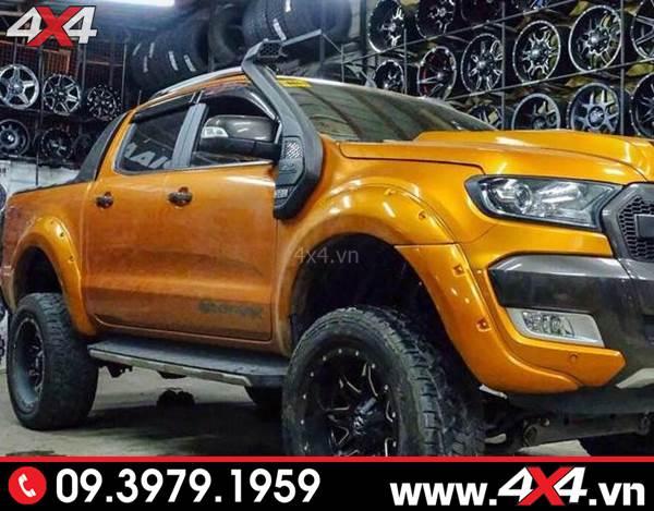 Chiếc bán tải Ford Ranger độ đẹp, đẳng cấp và chất với ống thở Ford Ranger