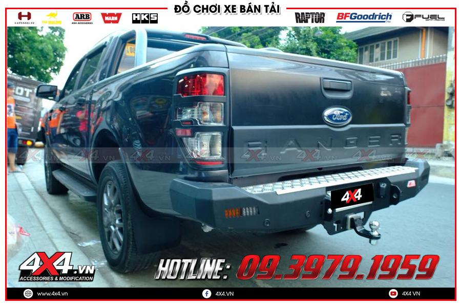 Chuyên phân phối ốp cốp sau dành cho xe Ford Ranger cực đẹp giá tốt