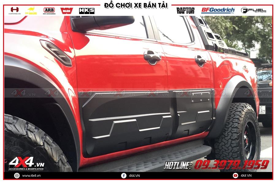 Chuyên độ ốp hông cửa dành cho xe Ranger Raptor cực chất giá tốt