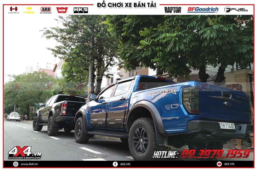 Báo giá ốp hông cửa dành cho xe Ranger Raptor ở HCM