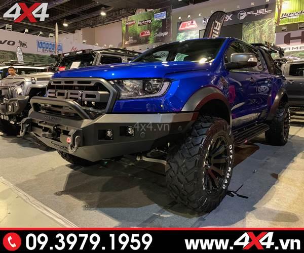 Bán tải Ford Ranger Raptor 2019 độ đẹp và khủng với nhiều món đồ chơi đẹp - Hình 4