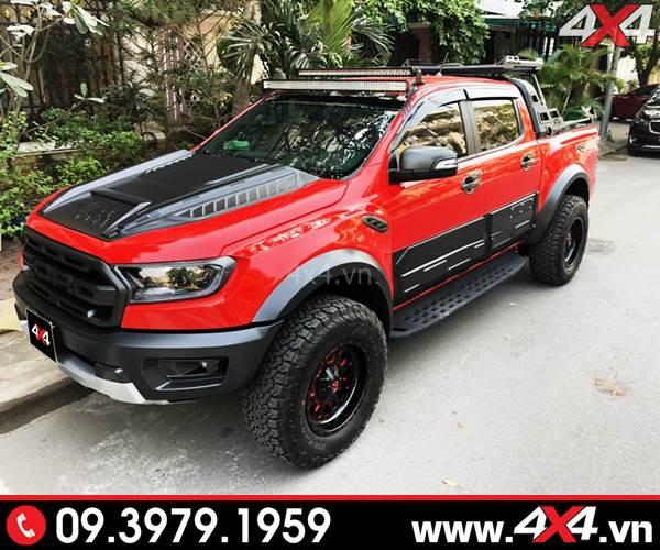 Chiếc bán tải Ford Ranger Raptor độ đẹp và ngầu với nhiều món đồ chơi khủng - Hình 5