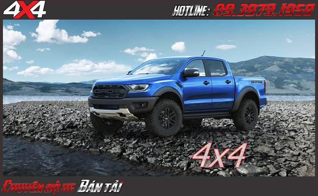 Xe bán tải Ford Ranger Raptor 2020