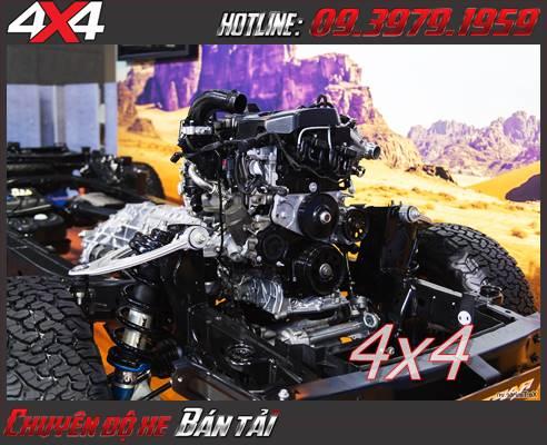 Động cơ mạnh mẽ hầm hố của Ford Ranger Raptor 2019