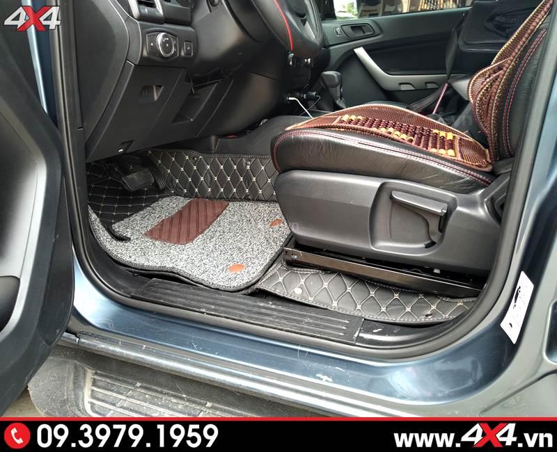 Thảm lót sàn 5D giúp cho nội thất xe bạn đẹp hơn, sang trọng hơn