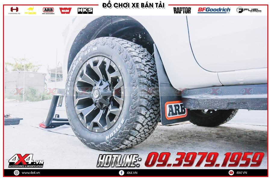 Cách lắp đặt sản phẩm chắn bùn Ford Ranger hiệu quả
