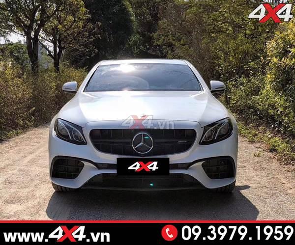 Mặt nạ kiểu dáng Mercedes E63S dành cho xe Mercedes Benz W205 C200 C250 C300