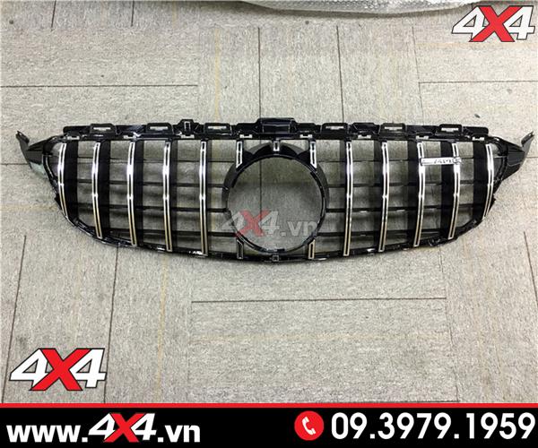 Mặt nạ trước chất liệu ABS cao cấp dành cho xe Mercedes C200 C300 W205 style GTR AMG