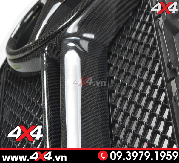 Mặt nạ kiểu C63 AMG độ cho xe Mercedes Benz W205 C200 C250 C300