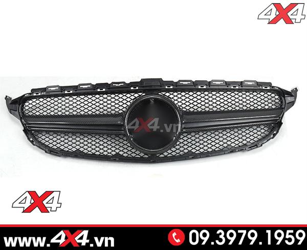 Xe Mercedes Benz W205 C200 C300 độ mặt nạ kiểu dáng C63S AMG cực chất