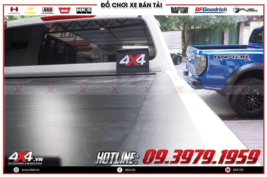 Độ nắp thùng cuộn cho xe Nissan Navara 2020 giá rẻ ở 4x4Chuyên cung cấp nắp thùng cuộn dành cho xe Nissan Navara 2020 hàng nhập chính hãng Thái LanBảng giá nắp thùng cuộn dành cho xe Nissan Navara 2020 hàng nhập Thái LanTư vấn độ nắp thùng cuộn dành cho xe Nissan Navara 2020 sao cho tiện dụng và giá hợp lý tại 4x4