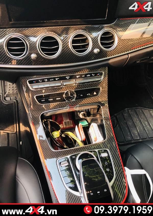 Nội thất Mercedes Benz W205 C200 C250 C300 độ full carbon fiber