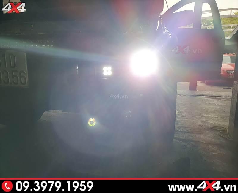 Bi gầm độ tăng sáng giúp xe bán tải Chevrolet Colorado đi đêm an toàn hơn
