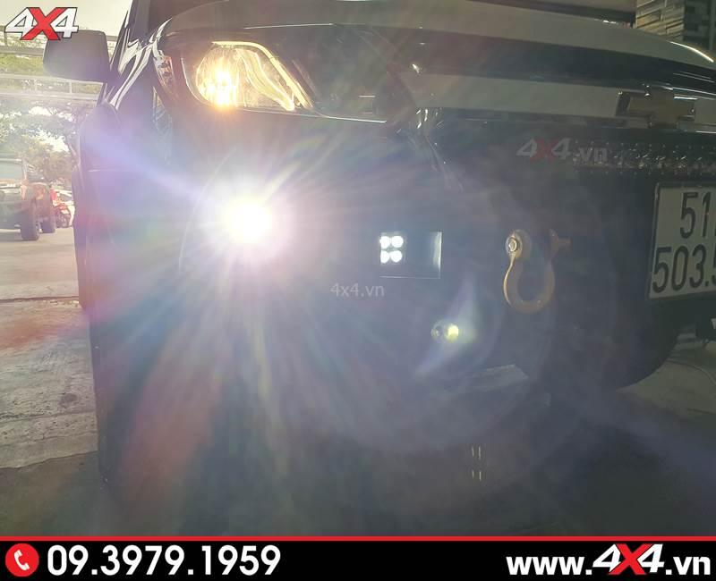 Độ Bi gầm trợ sáng tốt cho xe bán tải Chevrolet Colorado