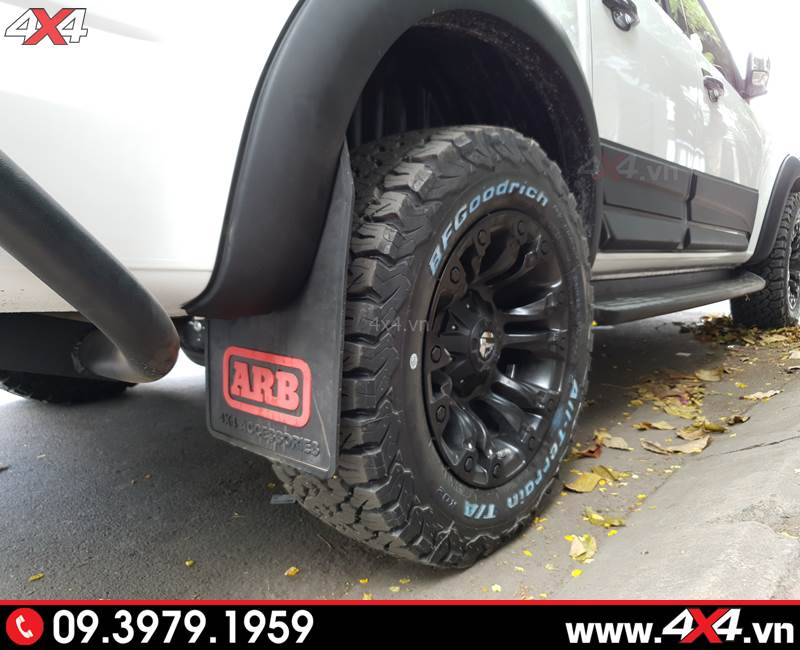 Mâm Fuel Vapor và lốp BFGoodrich độ đẹp và hầm hố cho xe bán tải Colorado