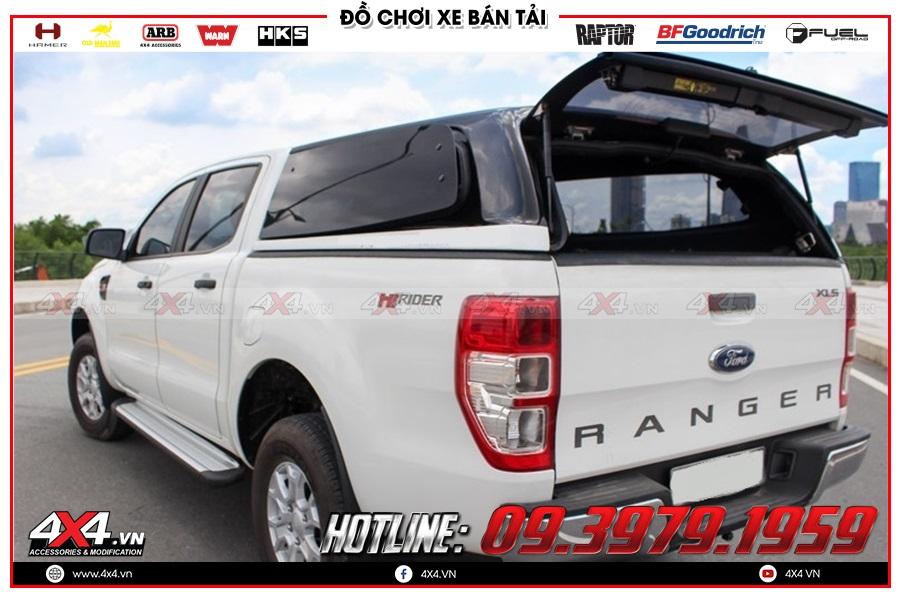 Độ nắp thùng Ford Ranger cực đẹp giá tốt tại gara độ 4x4