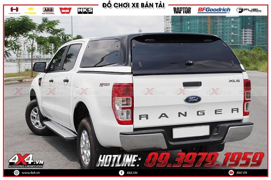 Xe Ford Ranger độ nắp thùng cao 2020 đầy tiện ích tại cửa hàng 4x4