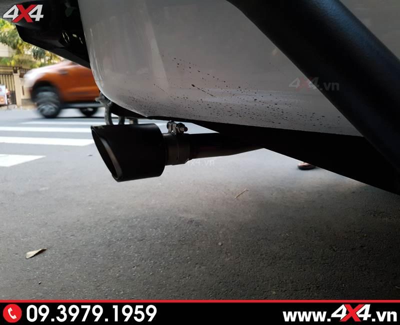 Chevrolet Colorado độ: Độ pô giúp xe bán tải của bạn trở nên mạnh mẽ và thể thao hơn rất nhiều