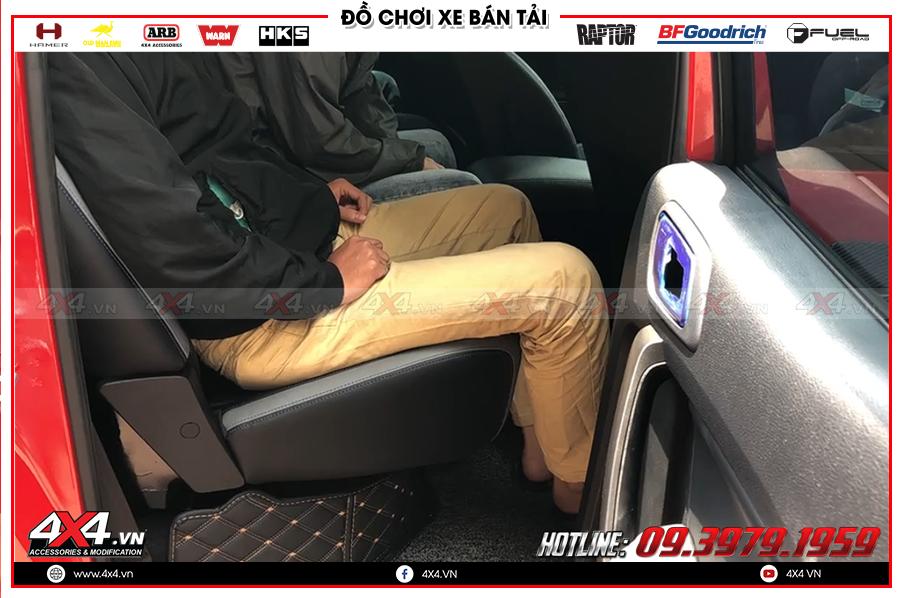 Tư vấn độ ghế chỉnh điện xe Ranger Raptor cực hot tại cửa hàng 4X4