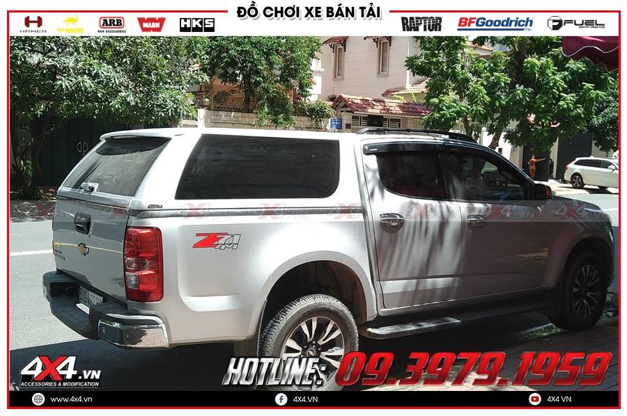 Hướng dẫn lắp đặt nắp thùng cho xe Chevrolet Colorado đúng chuẩn tại 4x4