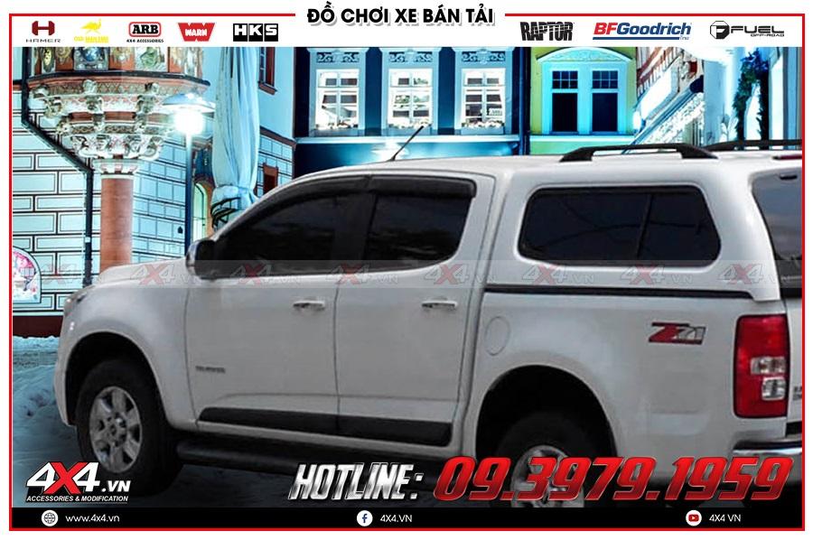 Một số mẫu nắp thùng cao xe Chevrolet Colorado 2020 được ưu chuộng nhất