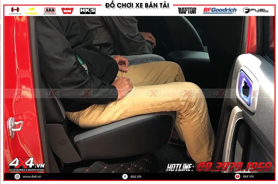 Phân phối sỉ & lẻ  sản phẩm độ  ghế chỉnh điện cho xe Ranger Raptor tại HCM