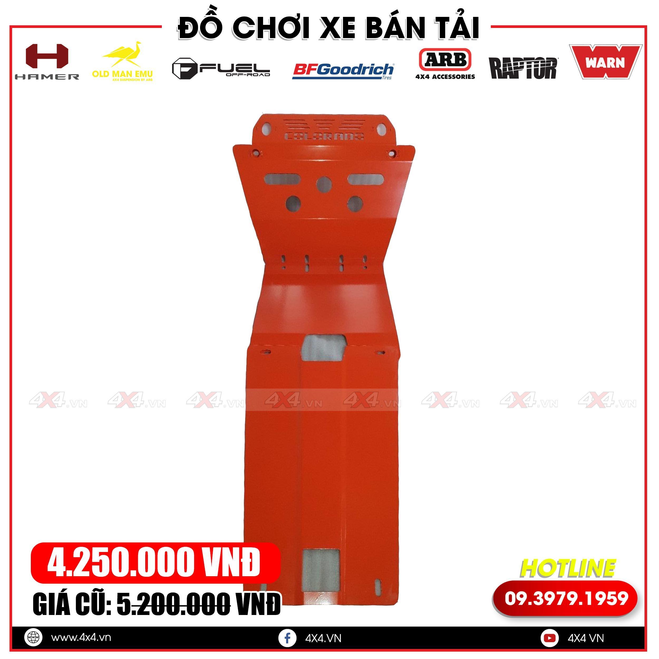 Giáp gầm xe bán tải là trang bị thiết yếu giúp bảo vệ gầm xe và độ đẹp đẳng cấp