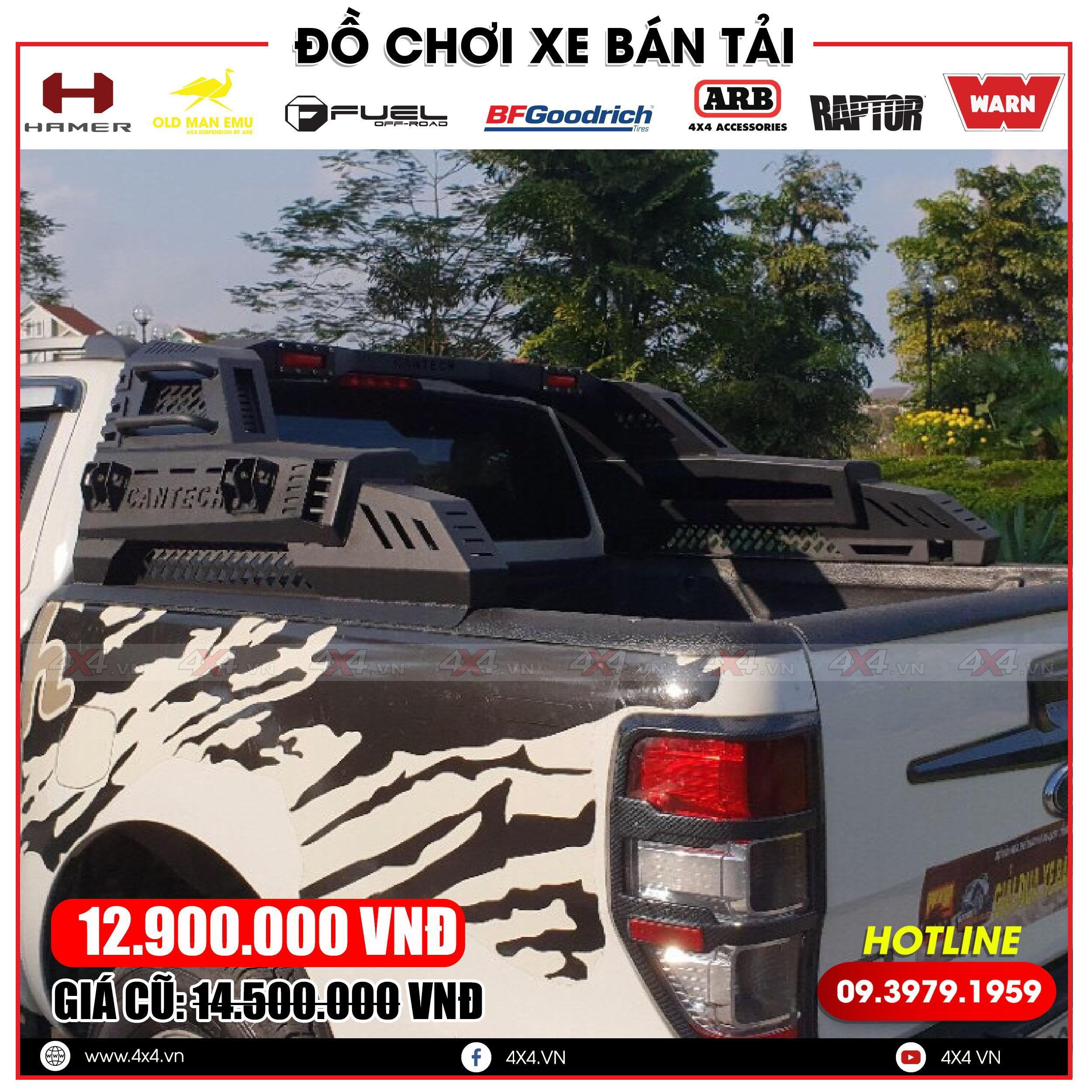Khung thể thao thương hiệu cantech hiện đang làm mưa làm gió tại thị trường Việt Nam
