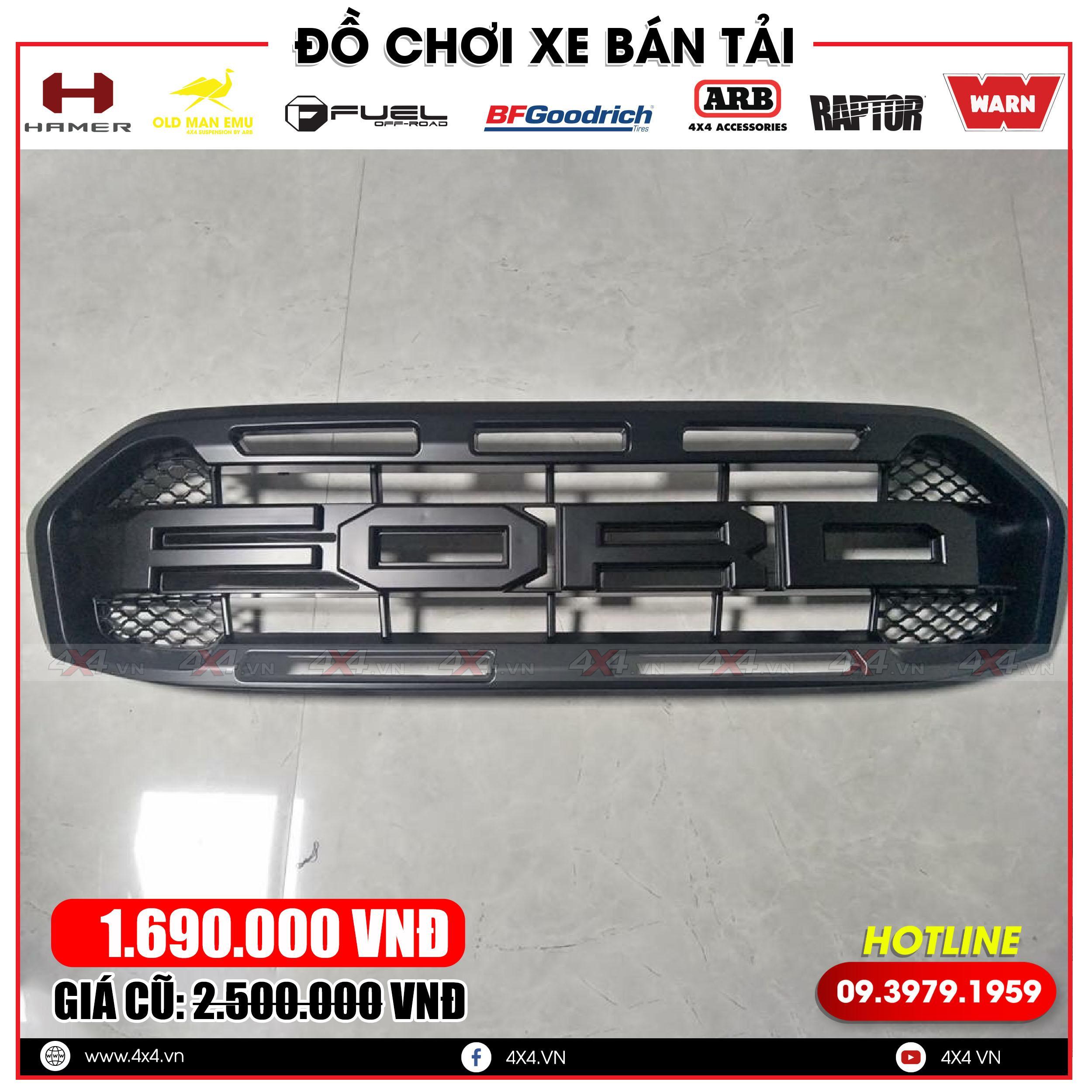 Mặt nạ độ ford ranger: mặt nạ độ hầm hố và đẳng cấp cho dòng xe ford Ranger XLS, XLT