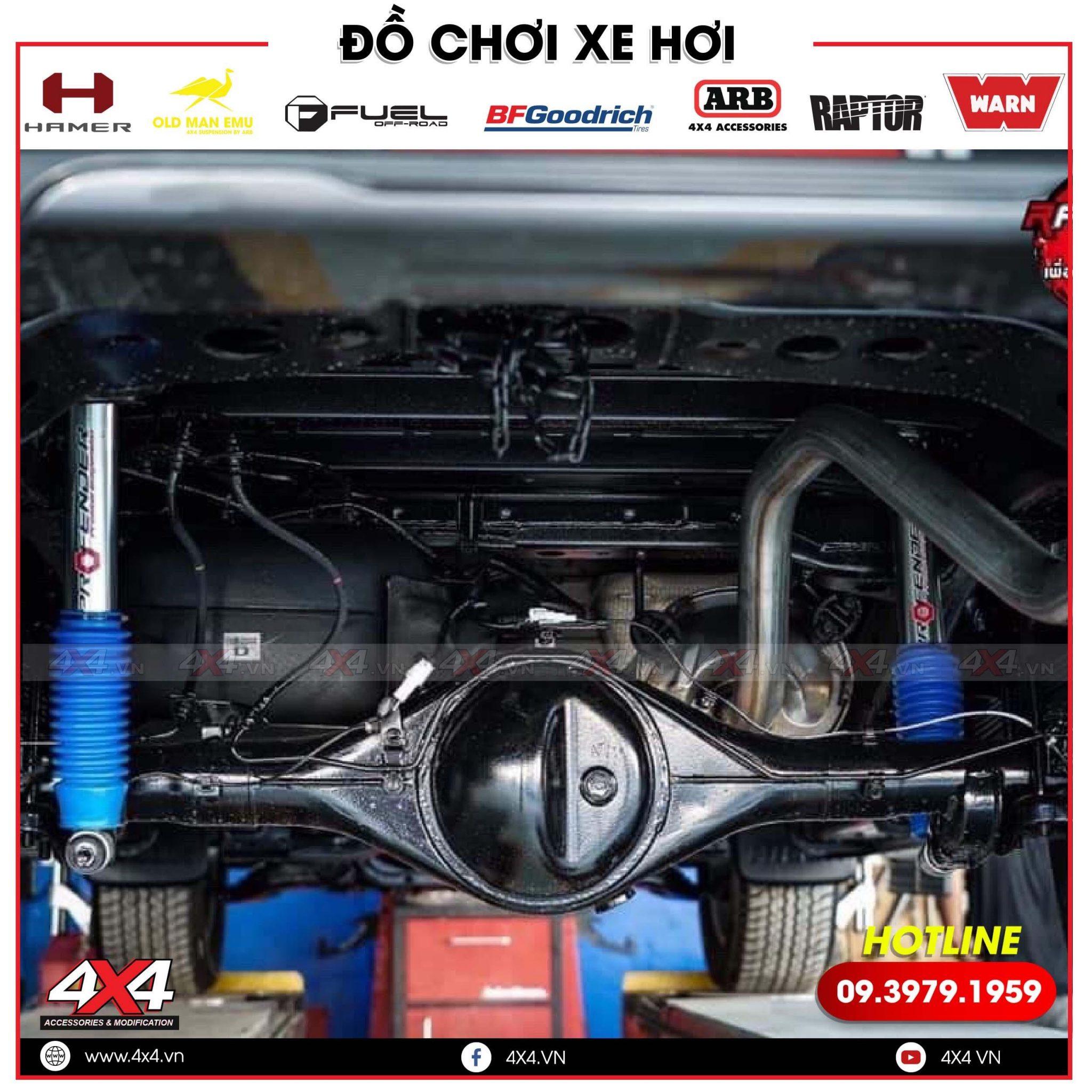 Xưởng Độ Bán Phuộc Profender Dành Cho Mazda BT50 Chất Lượng Tốt Nhất