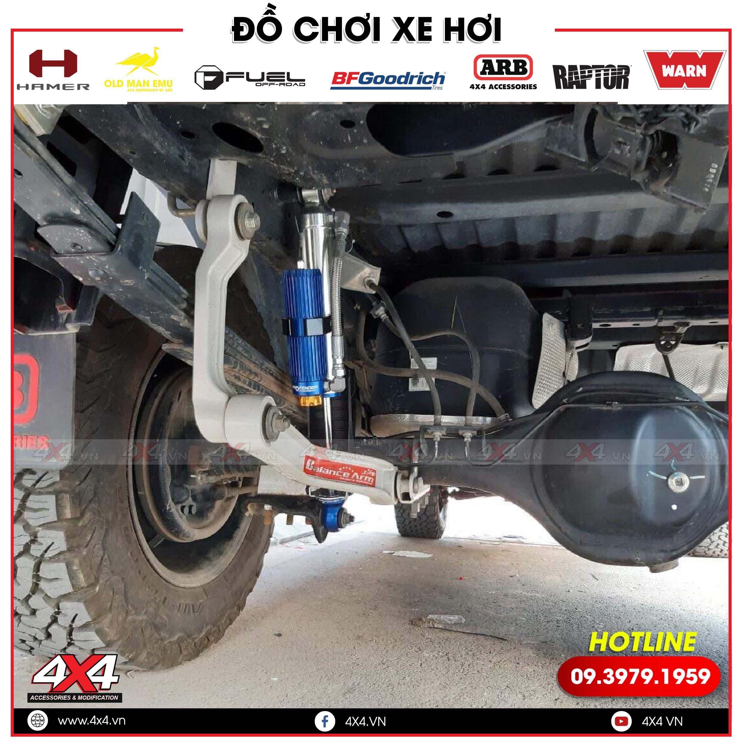 Phuộc Profender Trung cấp loại 1 vừa giúp bạn giảm xóc khi đi đường vừa giúp bạn chở tải nặng được