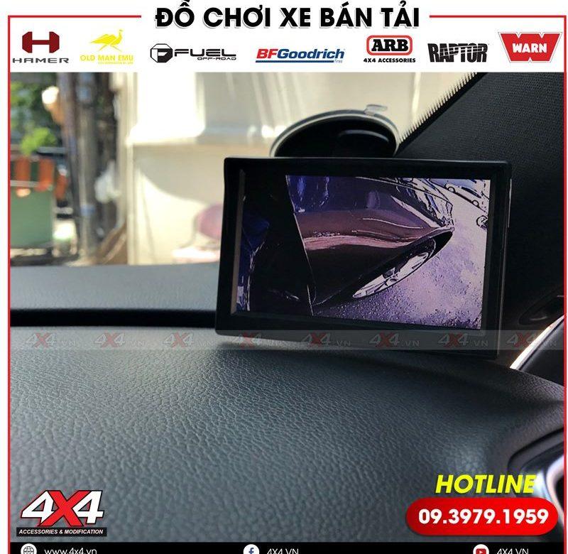 Camera cập lề độ tiện lợi và đẳng cấp cho xe bán tải Ford Ranger