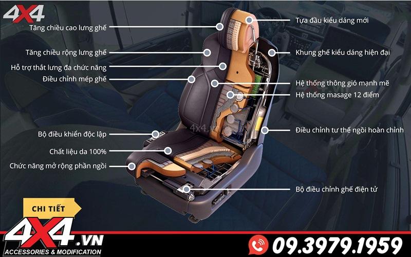 Thiết kế ghế độ MBS cho xe sang Lexus 570 và Toyota Land Cruiser với đầy đủ tính năng hiện đại và sự tiện nghi