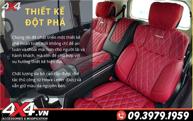 Ghế độ MBS: Thiết kế đột phá, tiện nghi và đẳng cấp cho dòng xe sang Lexus 570 và Toyota Land Cruiser