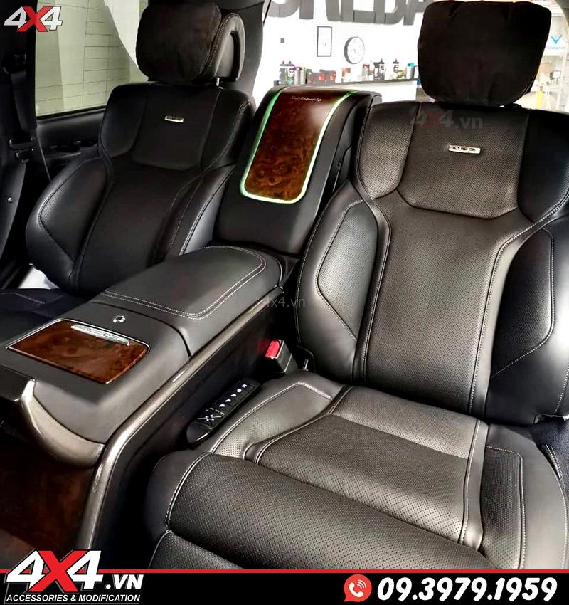 Độ ghế và nội thất đẳng cấp hơn cho xe Lexus 570 và Toyota Land Cruiser với gói độ MBS