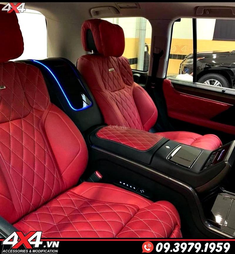 Xe sang Lexus 570 và Toyota Land Cruiser độ ghế nội thất MBS cực sang trọng và đẳng cấp